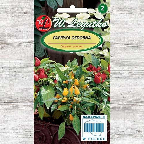 Ardei ornamental, mix multicolor imagine 1 articol 78626