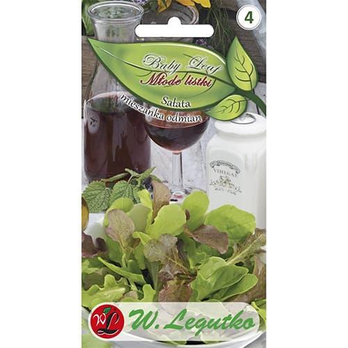 Baby Leaf - Salată, amestec de soiuri imagine 1 articol 86715