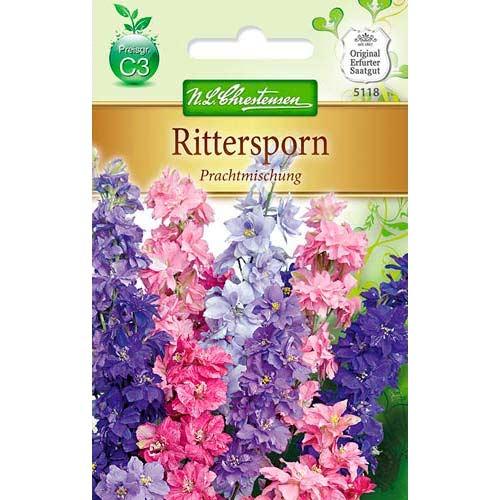 Delphinium (Nemțișor) cu flori mari, mix multicolor imagine 1 articol 78908