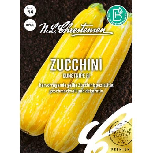 Dovlecel zucchini Sunstripe F1 imagine 1 articol 86105