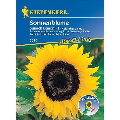Floarea soarelui decorativă Sunrich Lemon F1 imagine 1 articol 86329