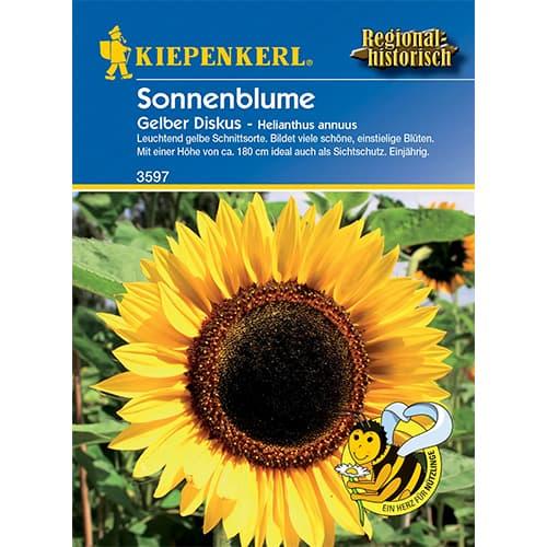 Floarea soarelui decorativă Yellow Disc imagine 1 articol 86321