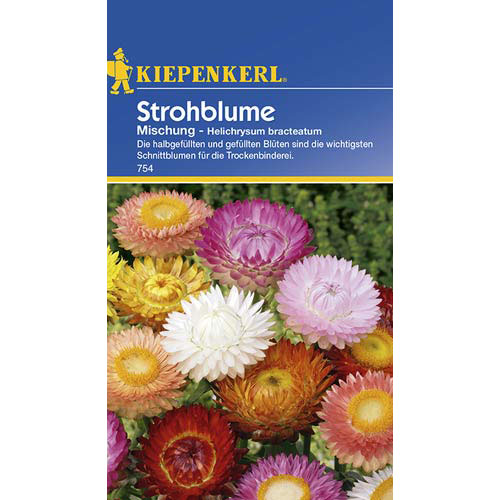 Flori de paie, mix multicolor imagine 1 articol 77408
