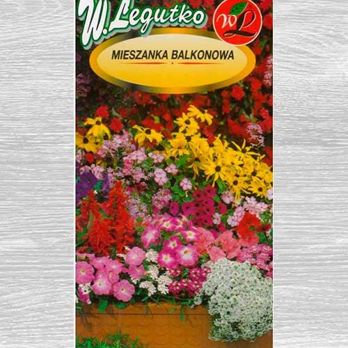 Flori pentru balcon, mix multicolor 2 imagine 1 articol 69605
