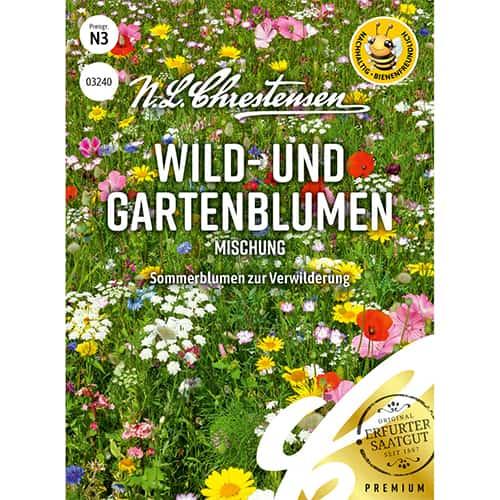 Flori sălbatice și de grădină, mix multicolor imagine 1 articol 86223