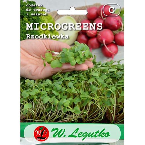 Microplante - Ridiche roșie imagine 1 articol 78700