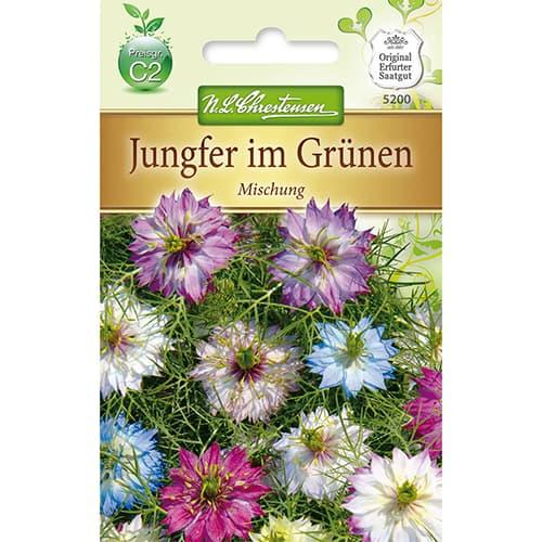 Nigella damascena, mix multicolor imagine 1 articol 78926