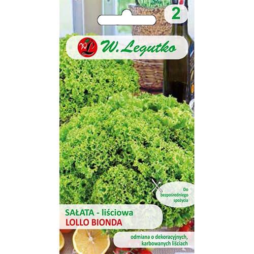 Salată de frunze Lollo Bionda imagine 1 articol 86902
