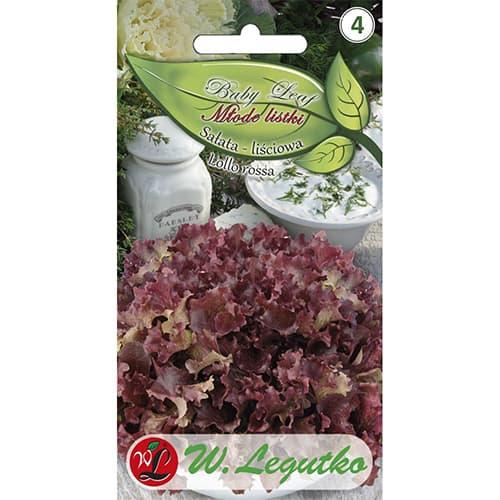 Salată de frunze Lollo Rossa imagine 1 articol 86903