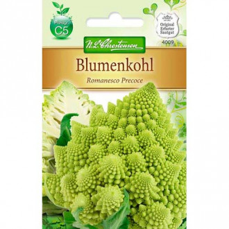 Conopidă Romanesco Precoce imagine 6