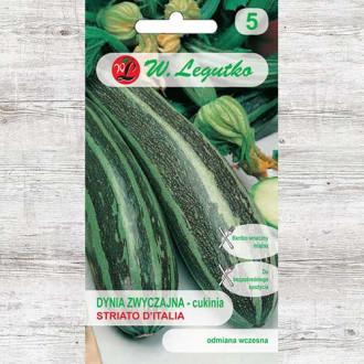 Dovlecel zucchini Striato d'Italia