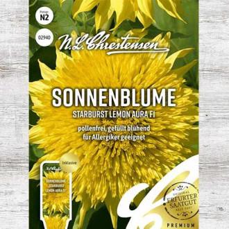 Floare soarelui decorativă Starburst Lemon Aura F1