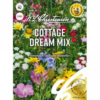 Flori de grădină Cottage Dream, mix multicolor imagine 2