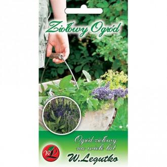 Ierburi aromatice Grădină perenă, amestec imagine 2