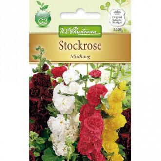 Nalbă de grădină, mix multicolor imagine 2